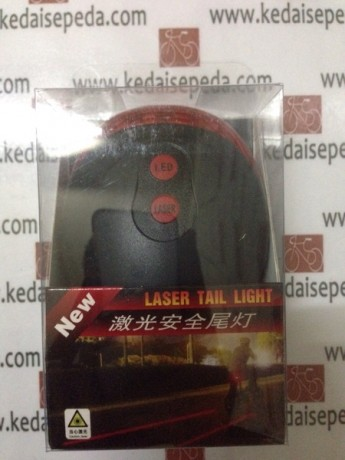 laser light belakang